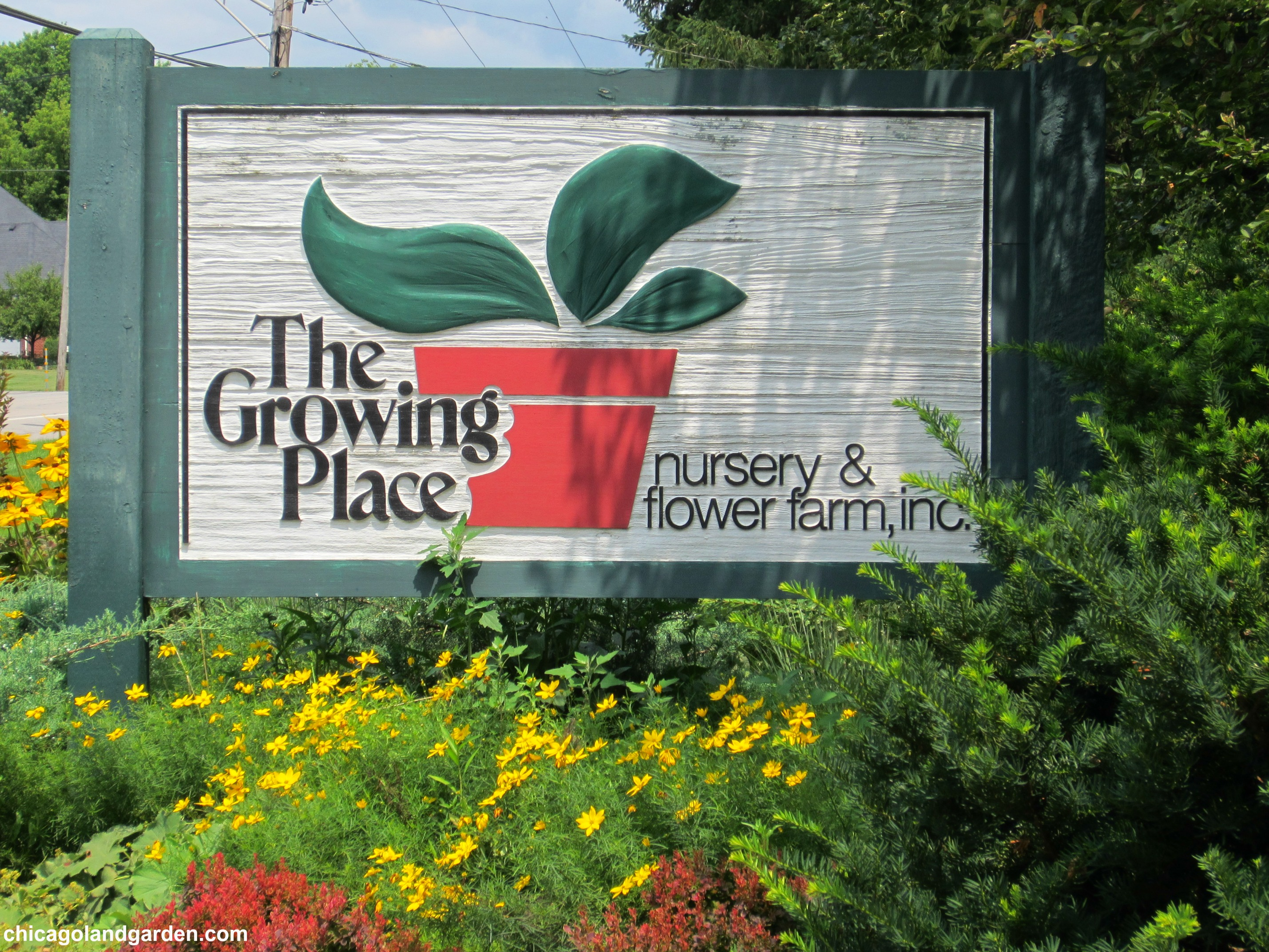 The Growing Place Sign | Chicagoland Garden